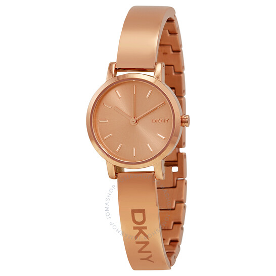 Dkny Rose Dial Rose Gold PVD Ladies Watch NY2308 | Joma Shop