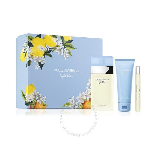 Dolce & Gabbana Ladies Light Blue Gift Set | Joma Shop