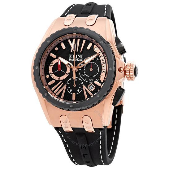 Elini Barokas Genesis Chronograph Men's Watch ELINI-20008-RG-01-BB | Joma Shop