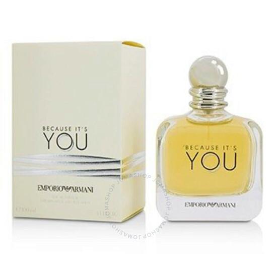 Giorgio Armani Emporio Because Its You Giorgio Armani Edp Spray 3 4 Oz 100 Ml W 3605522041486 Ladies Perfumes Ladies Eau De Parfum Jomashop