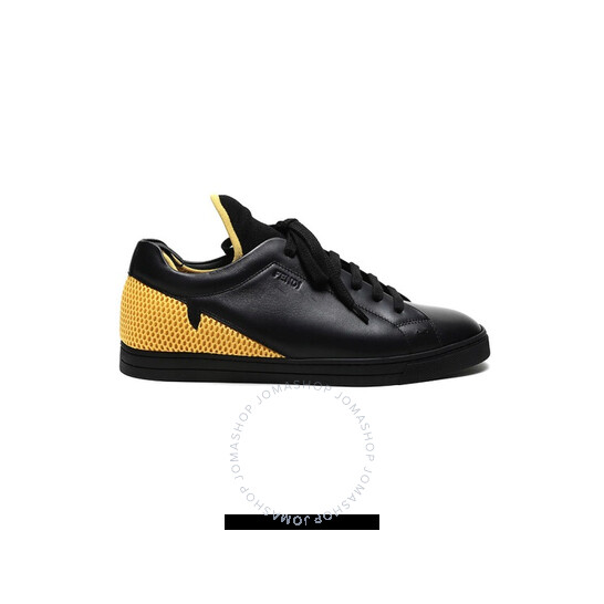 Fendi Men's Low-Top Mesh Detail Sneakers, Brand Size 6 (US Size 7) | Joma Shop
