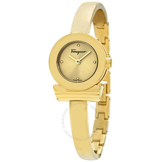 Salvatore Ferragamo Gancino Quartz Ladies 22 mm Watch (FQ5100017)
