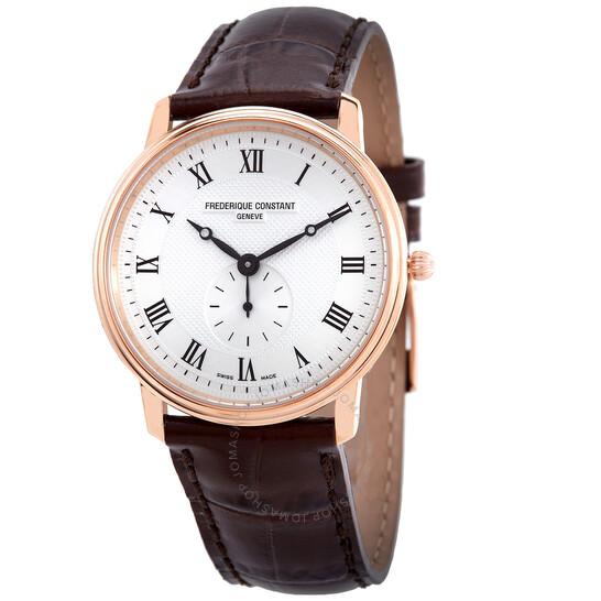 Frederique Constant Quartz Silver Dial Men's Watch