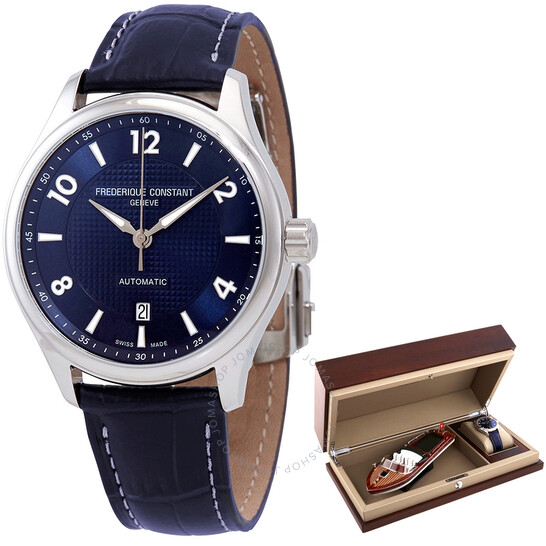 Frederique Constant Runabout Automatic Navy Dial Men's Watch FC-303RMN5B6   Joma Shop