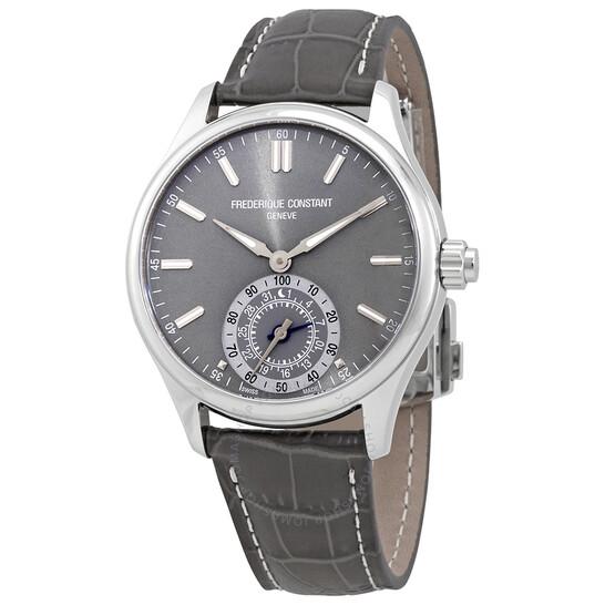Frederique Constant Silver Dial Men's Horological Smartwatch