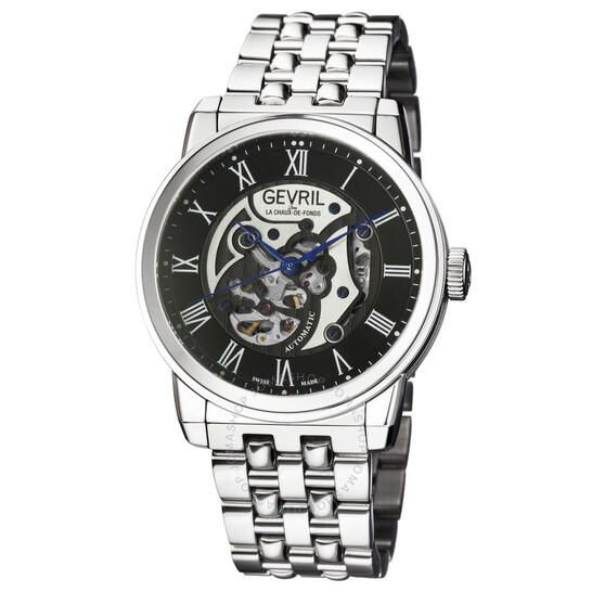 Gevril Vanderbilt Black Dial Men's Watch (2691S)