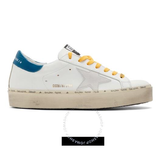 Golden Goose Deluxe Brand Men's Multicolor Hi Star Sneakers, Brand Size 11 (US Size 11) | Joma Shop
