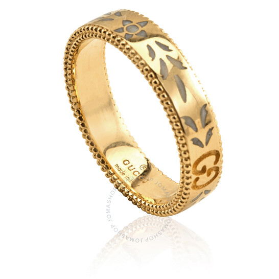 Gucci 18KT Yellow Gold Icon Ladies Ring, Brand Size 11 (5 3/4 US)   Joma Shop
