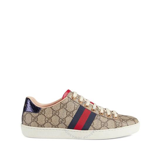 Gucci Ace GG Supreme Sneakers, Brand Size 34   Joma Shop