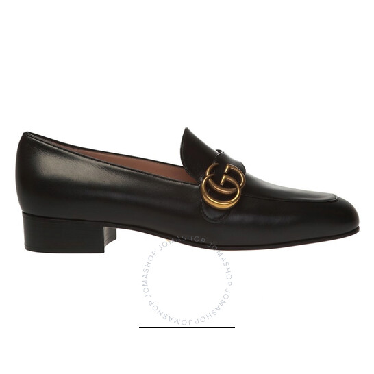 Gucci Double G Leather Loafers, Brand Size 37 (US Size 7) | Joma Shop