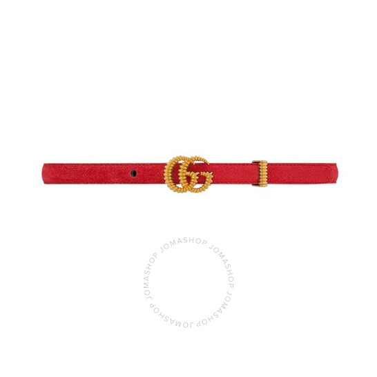 Gucci Double G Suede Belt, Brand Size 80 | Joma Shop