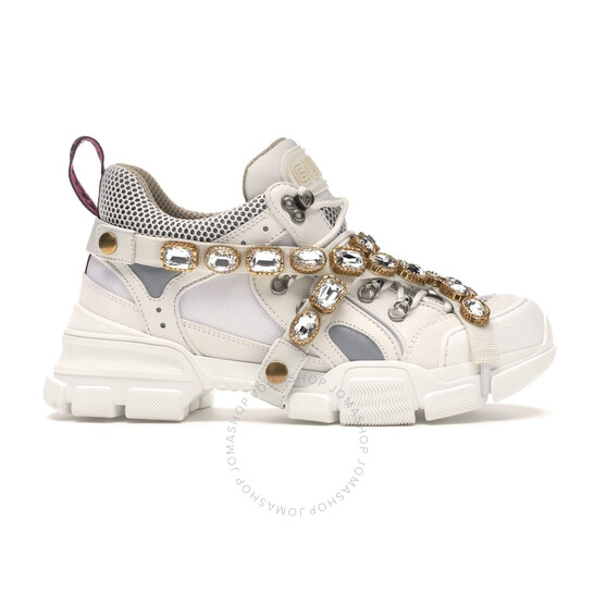 Gucci Flashtrek Sneaker With Removable Crystals, Brand Size 34 ( US Size 4 ) | Joma Shop