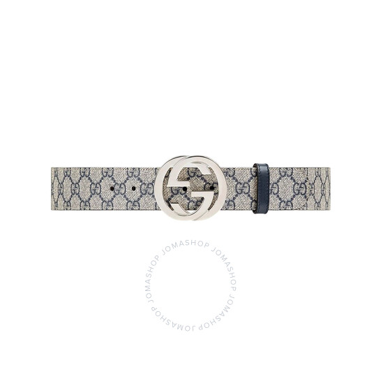 Gucci GG Supreme Belt With G Buckle, Brand Size 105   Joma Shop