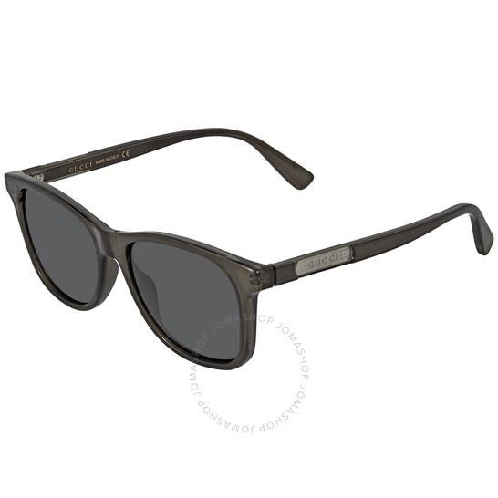 Gucci Grey Rectangular Men's Sunglasses (GG0936S-001 54)