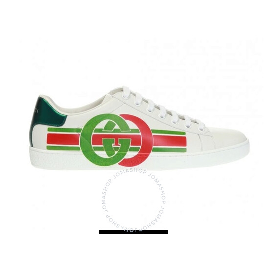 Gucci Ladies Interlocking G Ace Sneakers, Brand Size 38.5 (US Size 8.5) | Joma Shop
