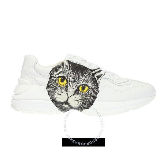 Gucci Ladies Mystic Cat Rhyton Sneakers, Brand Size 37 (US Size 7) | Joma Shop