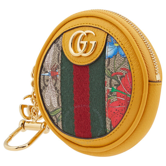 Gucci Ladies Ophidia GG Flora Coin Purse