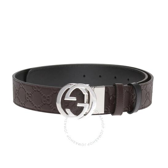 Gucci Reversible Gucci Signature Belt, Brand Size 75 CM | Joma Shop