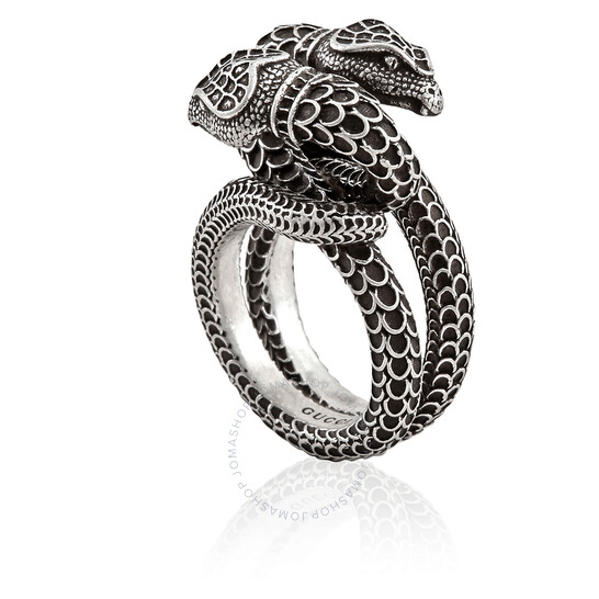 Gucci Snake Ring in Sterling Silver, Size 11 (5 3/4 US) | Joma Shop