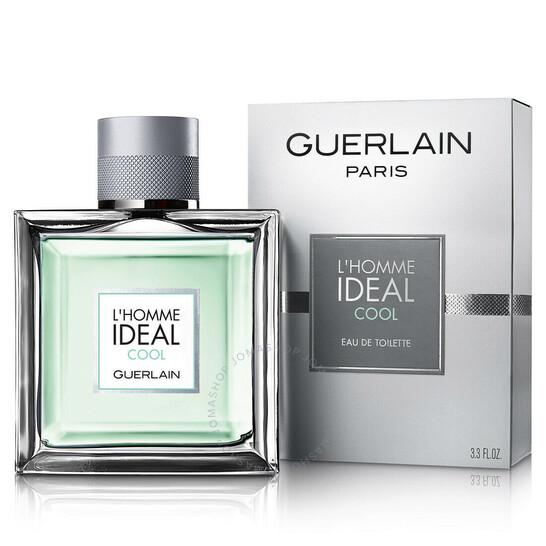 Guerlain L'Homme Ideal Cool EDT Spray 3.4 oz (100 ml) | Joma Shop