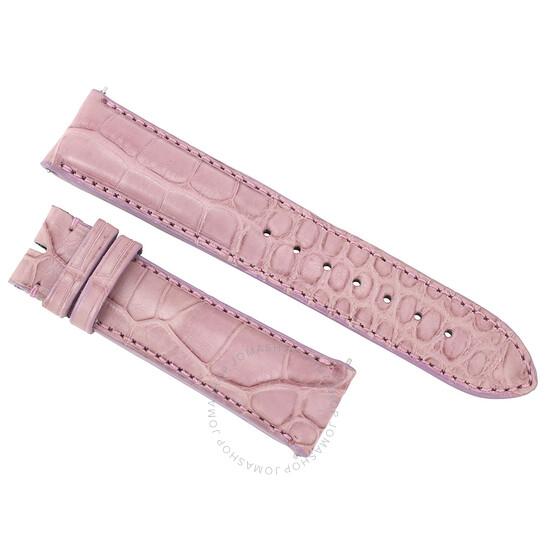 Hadley Roma 20 MM Matte Lavender Alligator Leather Strap | Joma Shop