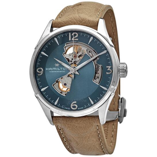 Hamilton Jazzmaster Open Heart Automatic Blue Dial Men's Watch H32705842 | Joma Shop