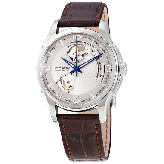 Hamilton Jazzmaster Open Heart Silver Dial Men's Watch H32565521   Joma Shop