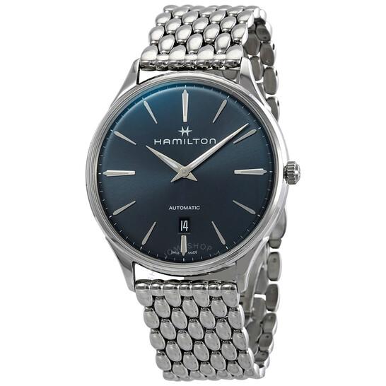 Hamilton Jazzmaster Thinline Automatic Blue Dial Men's Watch H38525141 | Joma Shop