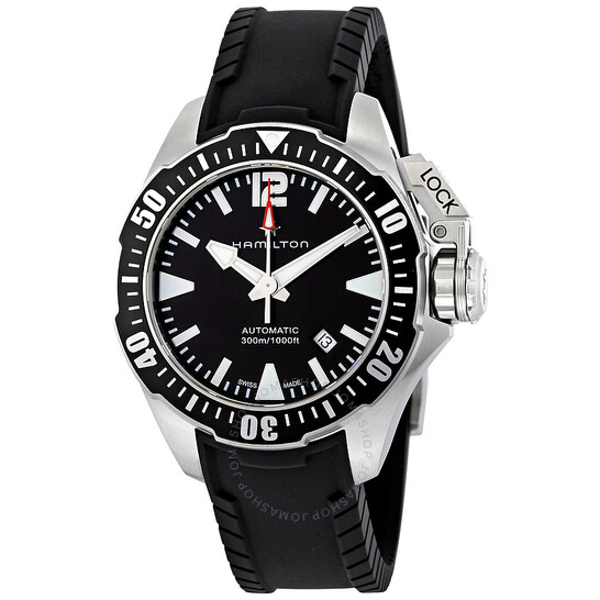 Hamilton Khaki Navy Frogman Automatic Men's Watch H77605335 | Joma Shop