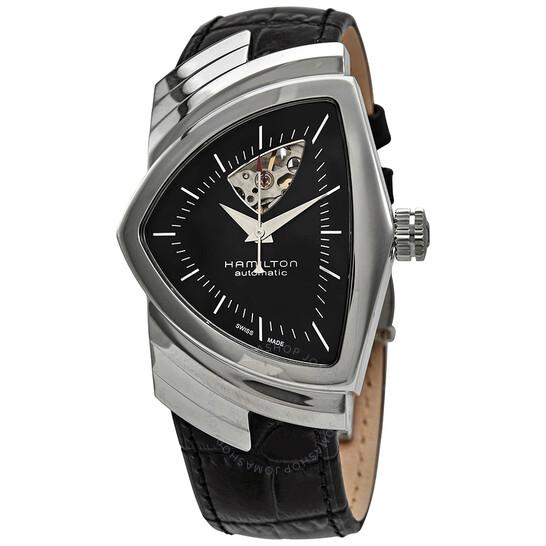 Hamilton Ventura Open Heart Automatic Shield Shaped Men's Watch H24515732 | Joma Shop