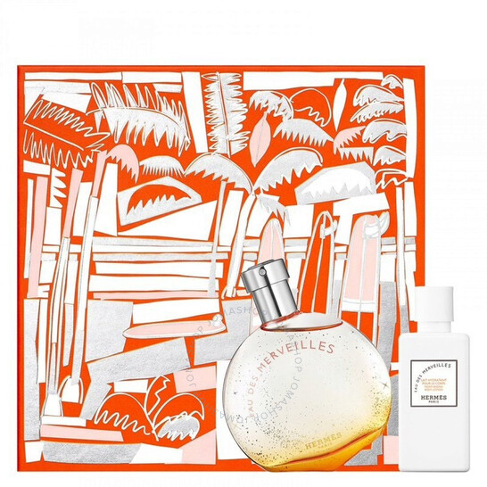 Deals on HERMES Ladies Eau Des Merveilles Gift Set
