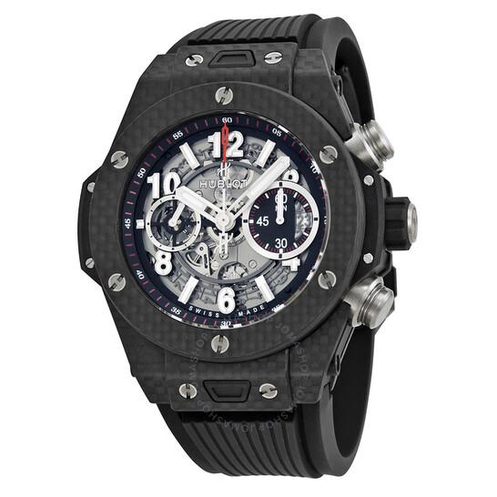 Hublot Big Bang Unico Carbon Automatic Skeletal Dial Men's Watch 411.QX.1170.RX | Joma Shop