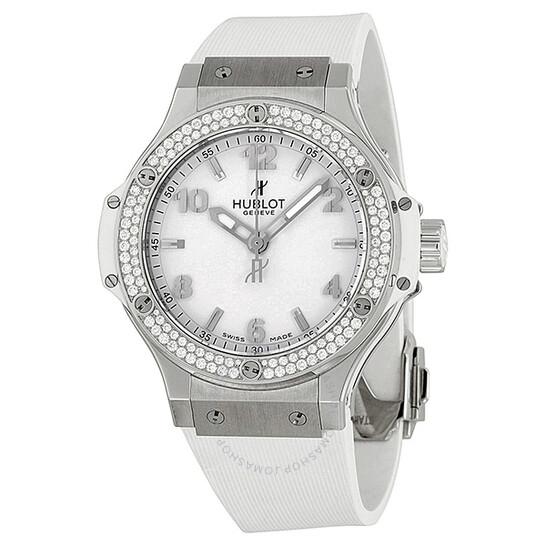 Hublot Big Bang Quartz Diamond White Dial Unisex Watch 361.SE.2010.RW.1104.PLP   Joma Shop