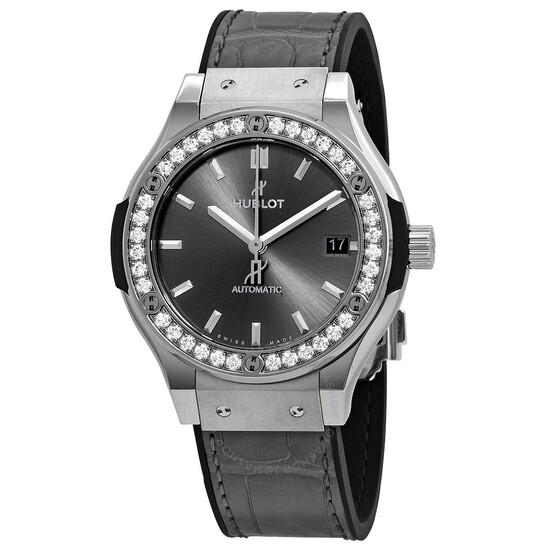 Hublot Classic Fusion Automatic Grey Dial Men's Watch 565.NX.7071.LR.1204   Joma Shop