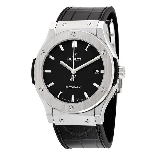 Hublot Classic Fusion Automatic Black Dial Men's Watch 511.NX.1171.LR   Joma Shop