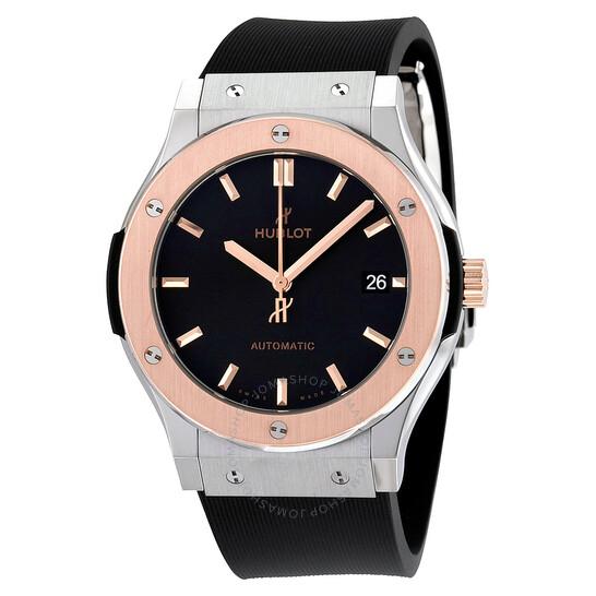Hublot Classic Fusion Black Dial Black Rubber Men's Watch 511.NO.1181.RX   Joma Shop