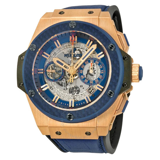 Hublot King Power Special One Automatic Chronograph Skeleton Dial Men's Watch 701OQ0138GRSPO14 | Joma Shop