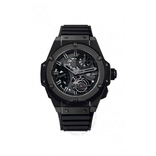 Hublot King Power Tourbillon GMT Skeleton Dial Ceramic Automatic Men's Watch 706.CI.1110.RX   Joma Shop