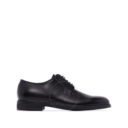 Hugo Boss Men's Black Lace-up Derby Shoes, Brand Size 8   Joma Shop