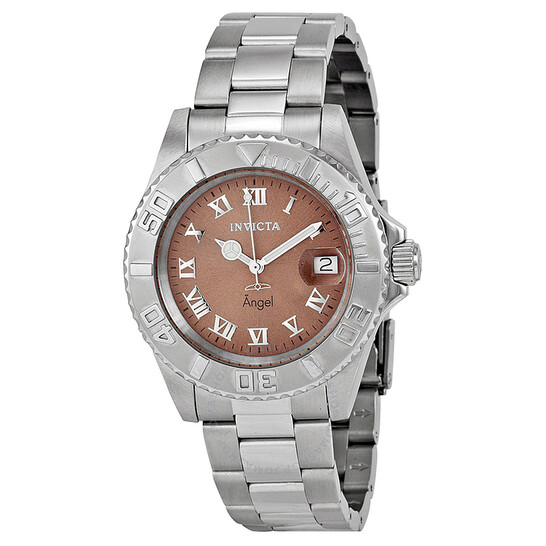 Invicta Angel Brown Dial Stainless Steel Ladies Watch 14362   Joma Shop