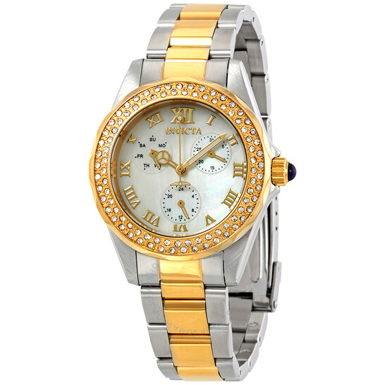 Invicta Angel Crystal Mother of Pearl Dial Ladies Watch 28437 | Joma Shop