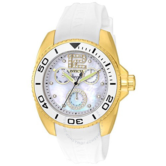 Invicta Angel Multi-Function Mother of Pearl Dial Ladies Watch 21703 | Joma Shop