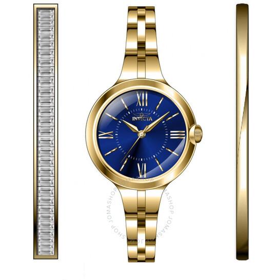Invicta Angel Quartz Blue Dial Ladies Watch 29341 | Joma Shop