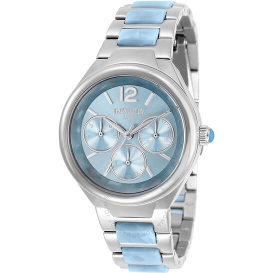 Invicta Angel Quartz Blue Dial Ladies Watch 32078   Joma Shop