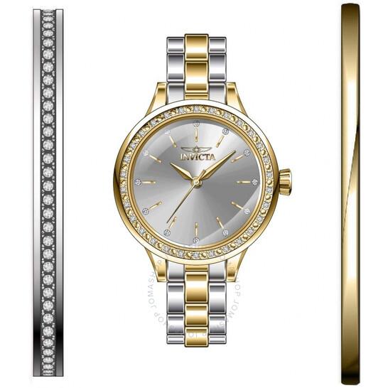 Invicta Angel Quartz Crystal Silver Dial Ladies Watch 29316 | Joma Shop