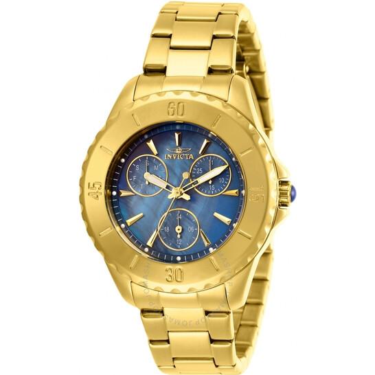 Invicta Angel Quartz Blue Dial Ladies Watch 29108 | Joma Shop