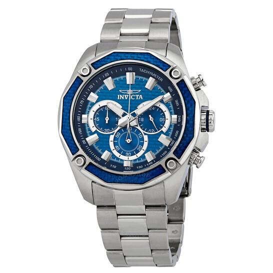 Invicta Aviator Chronograph Blue Dial Men's Watch 22804 | Joma Shop