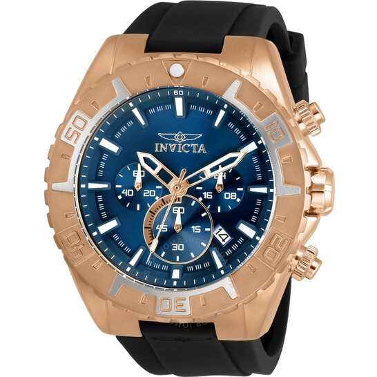 Invicta Aviator Chronograph Quartz Blue Dial Men's Watch 30752 | Joma Shop