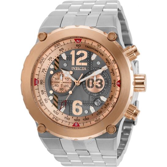 Invicta Aviator Chronograph Quartz Grey Dial Men's Watch 31590   Joma Shop