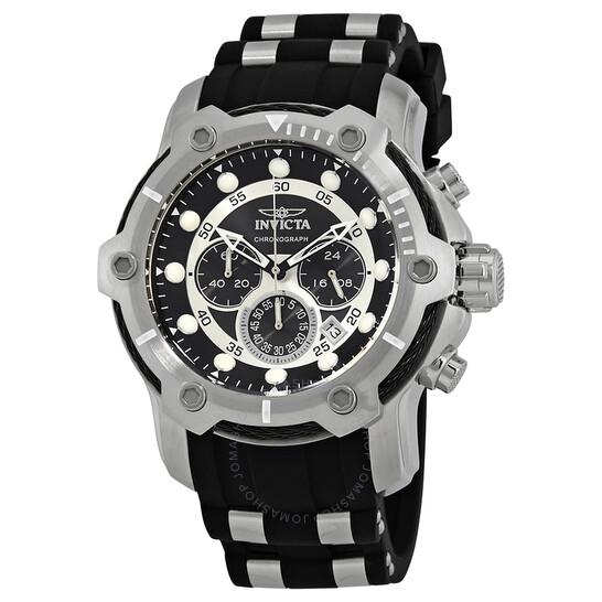Invicta Bolt Chronograph Black Dial Men's Watch 26764 | Joma Shop